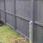 Paint fence and fit spur Stotfold