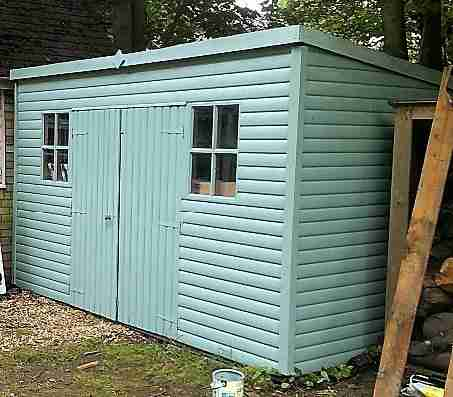 Paint shed Bassingbourn Royston