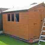 Re felt shed roof Stevenage